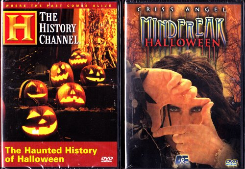 The Haunted History of Halloween , Criss Angel - Mindfreak - Halloween Special - A&E Halloween 2 Pack -