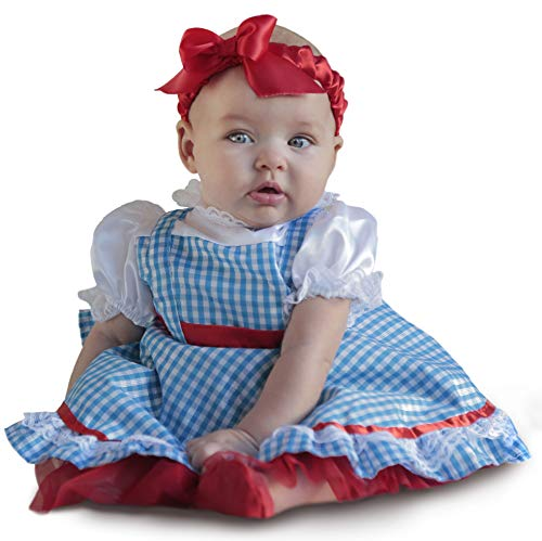 Princess Paradise Baby Girls' The Wizard of Oz Dorothy Newborn Deluxe Costume, As As Shown, 3/6M -