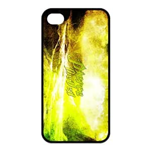 Pierce the Veil Pattern Design Solid Rubber Customized Cover Case for iPhone 4 4s 4s-linda241