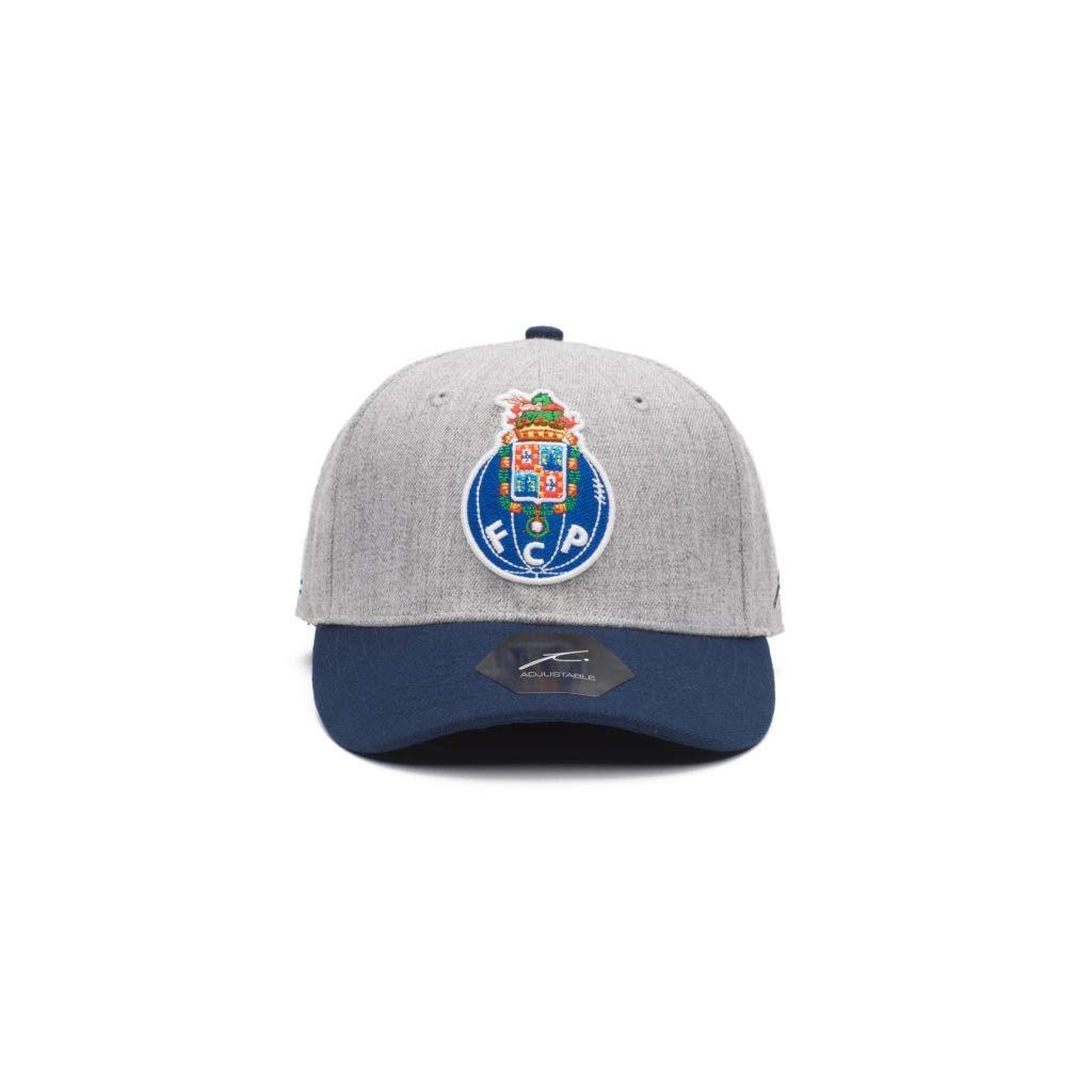 Fan Ink FCポルト – グレー野球帽(Fiコレクション)   B07NK3BH9F