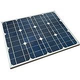太陽光発電パネル 単結晶 高品質 ソーラーパネル 太陽光パネル (50W)