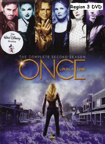 Once Upon A Time:The Complete Second Season - Region 3 DVD Subtitles : English For The Hearing Impaired,Thai,French,Mandarin,Spanish,Portuguese