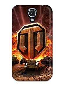 Everett L. Carrasquillo's Shop 9364544K92701494 New Shockproof Protection Case Cover For Galaxy S4/ World Of Tanks Online Case Cover