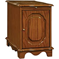 Powell Nostalgic Oak Magazine Cabinet Table