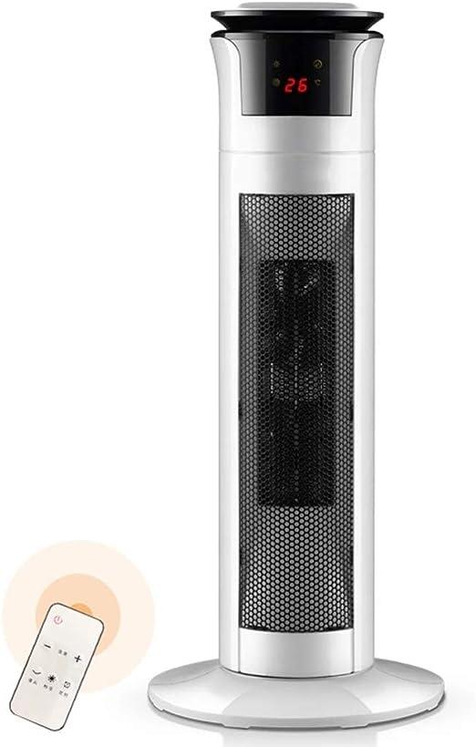 LTJX Termoventiladores, 1800W Ventilador Torre con Oscilación ...