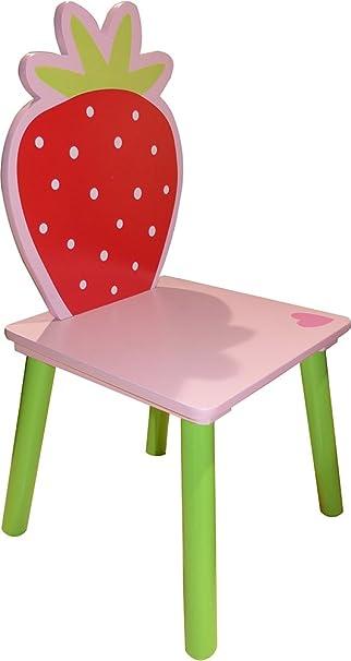 Stuhl Für Kinder Erdbeere Amazonde Küche Haushalt