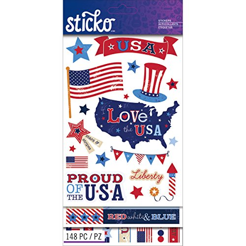 Sticko Flip Pack, Patriotic