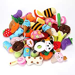 yowoo squeaky plush dog toys all kinds of fruit plush toys pet dog or cat chew toys. Black Bedroom Furniture Sets. Home Design Ideas