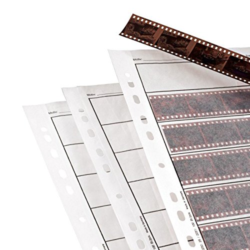(Hama Archival Negative Glassine Sheets Sleeves for 35mm Films - 100pcs)