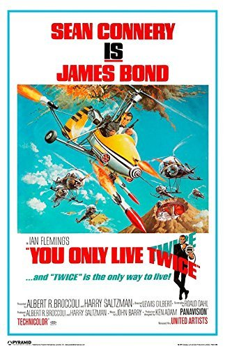 James Bond (You Only Live Twi) Poster - 11x17
