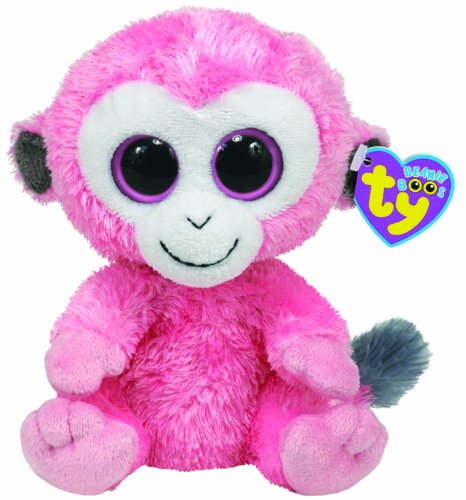 TY Beanie Boos - SHERBET the Monkey ( Beanie Baby Size - UK Exclusive)