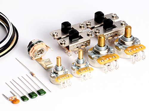 ToneShaper Guitar Wiring Kit, For Fender Jaguar ()