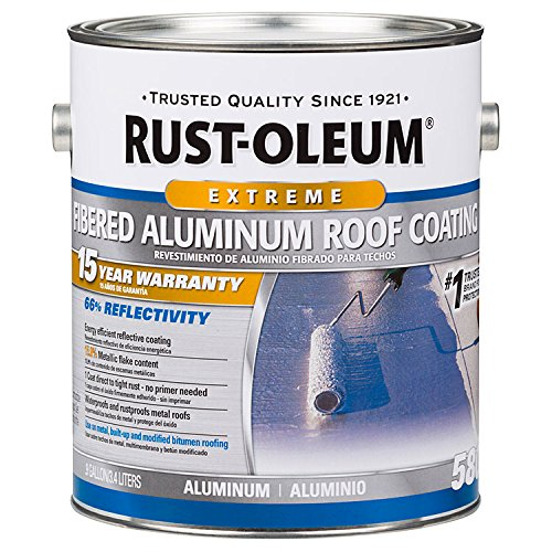 Rust-Oleum 301905 15 Year Fibered Aluminum Roof Coating gal