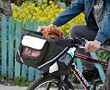 Bicycle Carriers Basket for Pet Dog Cat, Safe Bike Basket, Shoulder Carrier