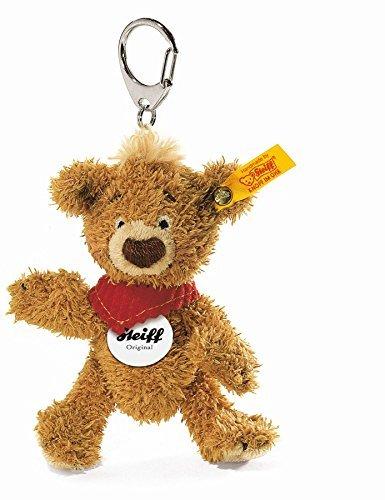 - Steiff 11cm Knopf Teddy Bear Keyring (Golden Brown) by Steiff