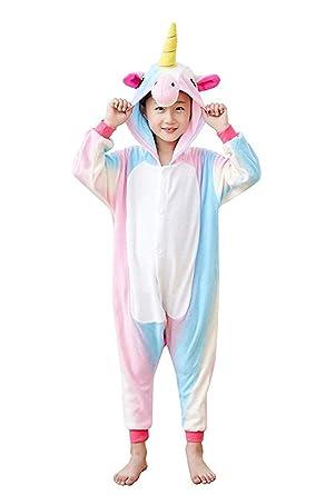 0d019e08d5d4 Amazon.com  NEWSIAMESE Kids Halloween Unicorn Cosplay One Piece ...