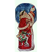 Santa Claus as door decoration
