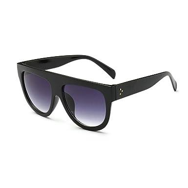 641040c58 Image Unavailable. Image not available for. Colour: Amazing Shadow Shield Flat  Top Oversized Women Ladies Men Designer Celebrity Sunglasses