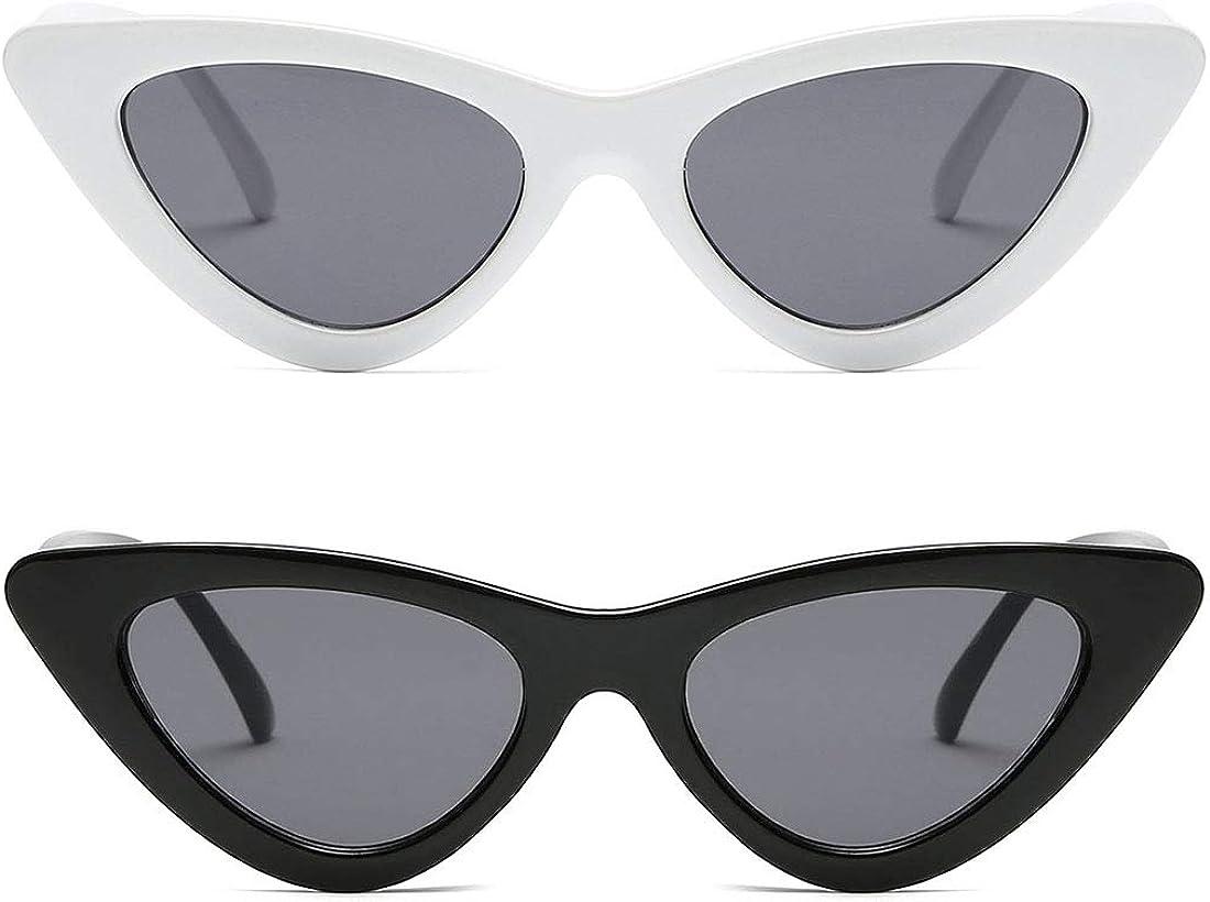 Kimorn Cat Eye Sunglasses Women Clout Goggles Kurt Cobain Retro Sun Glasses K0566