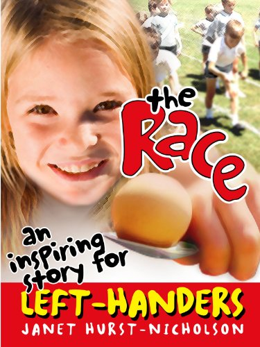Book cover image for The Race (an inspiring story for left-handers)
