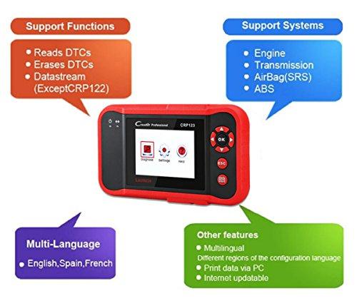 Launch CRP123 OBD2 Reader, Launch x431 Car Diagnostic