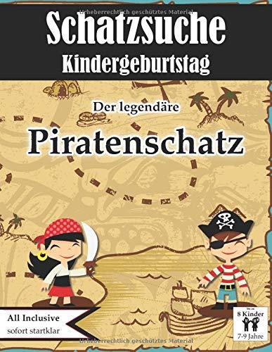 Schatzsuche Kindergeburtstag Piraten