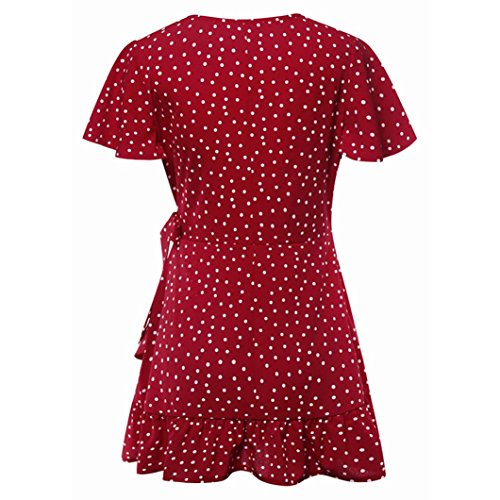 Robe Robe Wanshop Wanshop Moulante Moulante Red Red Femme Femme qxFtAnX