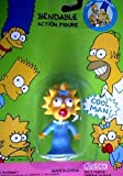 Maggie Simpson Bendable Action Figure - The Simpsons