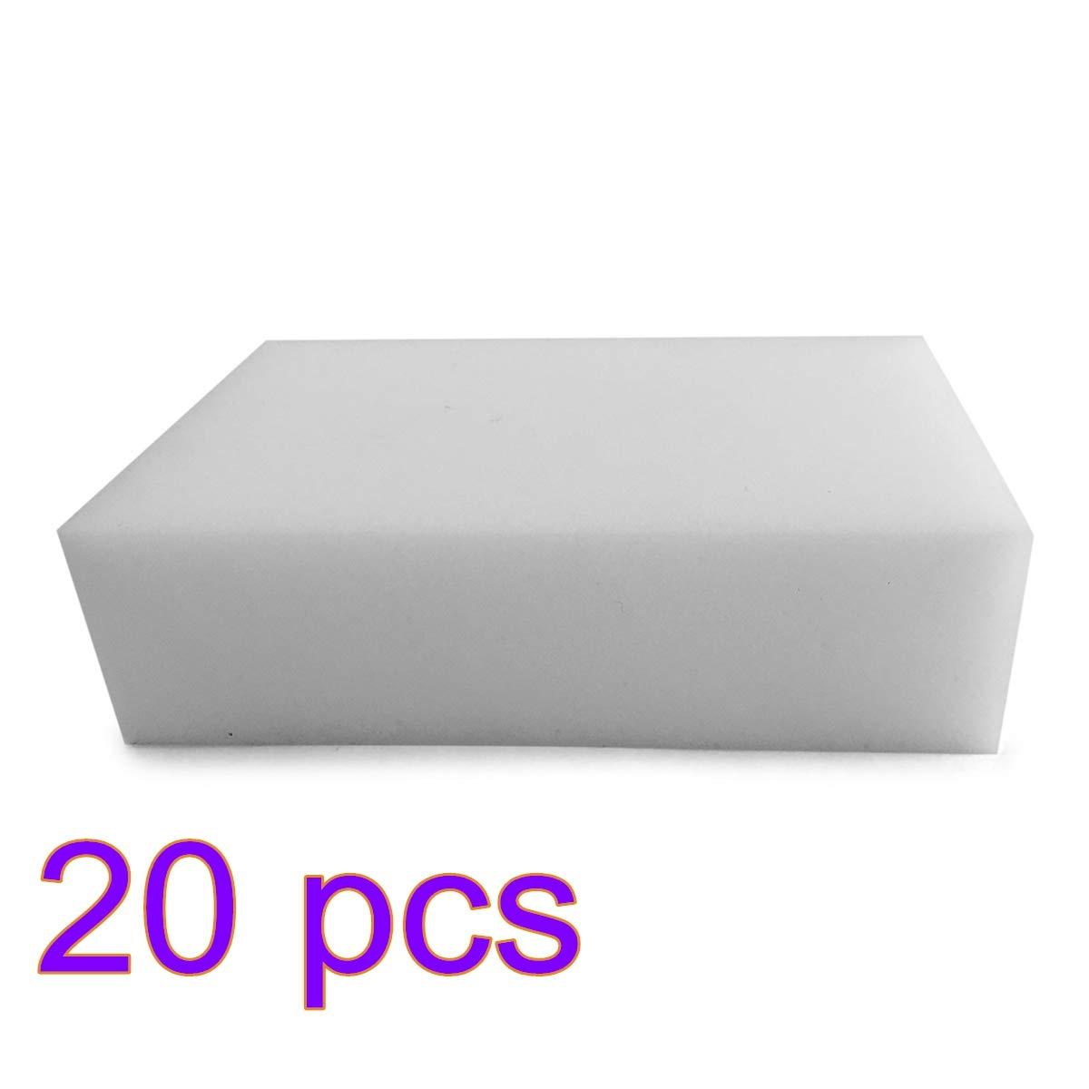 Nordvpn Pulizia Magica Gomma Piuma Spugna Melamina Alta qualità 90 x 60 x 30 mm (20 Pezzi)