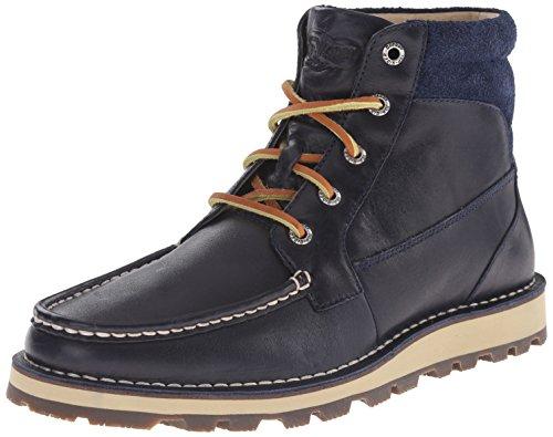 Sperry Top-Sider Men's Dockyard Moc Boot Winter Boot, Navy, 10.5 M US