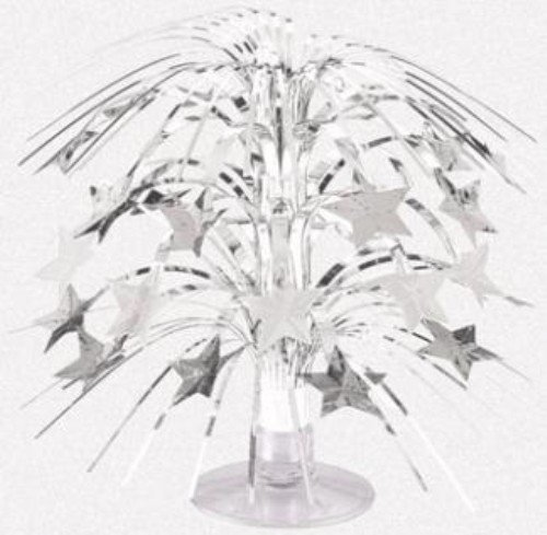 Amscan Sparkling Star Mini Cascade Centerpiece, 8 1/2