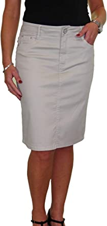 Stretch Skirt Office Day NEW Size 10-22