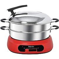 Mayer MMHP5 Hot Pot with Steamer