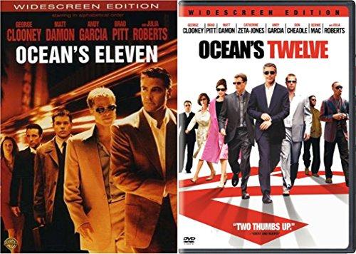 Ocean's Eleven & Ocean's Twelve Widscreen 2-DVD Bundle