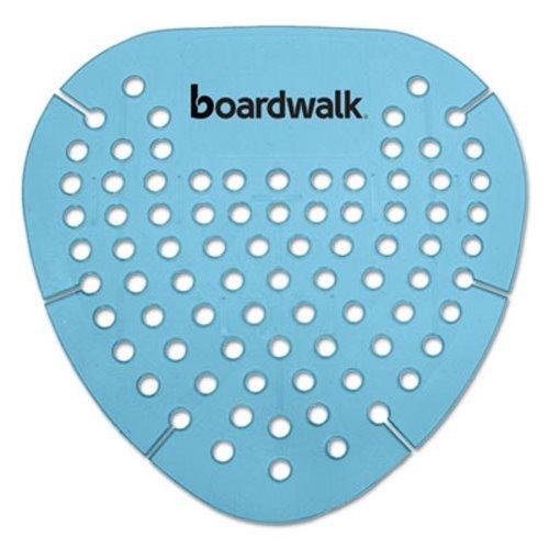 Boardwalk GEMCBL Gem Urinal Screen, Lasts 30 Days, Cotton Blossom Fragrance, Blue, 8.38