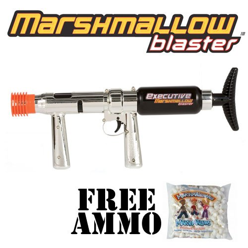 Executive Blaster Marshmallow Shooter