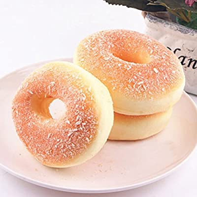 Pack of 2 Fireboomoon 3.9'' Jumbo Soft Bread