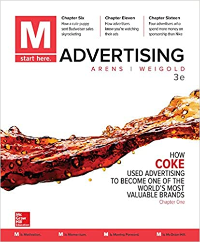 M advertising william arens michael f weigold 9781259815942 m advertising 3rd edition fandeluxe Images