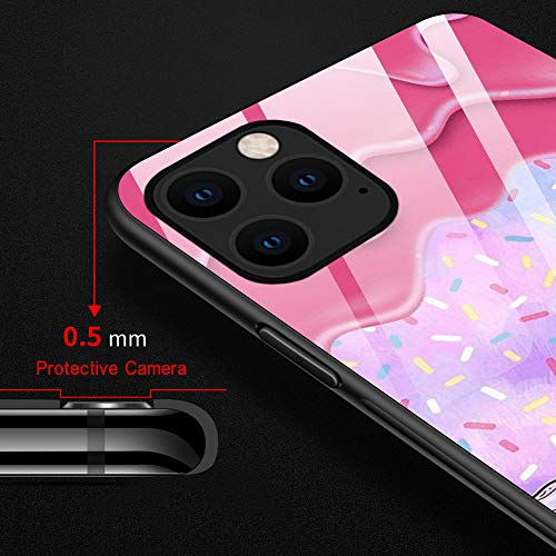 iPhone 11 Pro Max Case,Delicious Donut iPhone 11 Pro Max Cases for Women Girls,Anti-Slip Drop Protection with Soft TPU Bumper Pattern Design Case for Apple iPhone 11 Pro Max