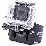 Zgear B3 Mount for GoPro Cameras on BackPack, BCD, Belt & Other straps