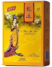 4 verpakkingen van echte Piao Yi dieetthee 80 theezakjes