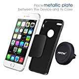Car Mount,Mpow Grip Magic Mobile Phone Cradle Air Vent Magnetic Phone Holder Universal Car Mount for iPhone 6/6 Plus/5 Samsung S6/S7 Nexus 7 Huawei P9 and other Andriod Cellphones(Black) Bild 1