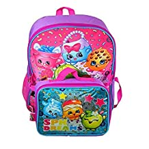 "Backpack - Shopkins - SPK Dreams 16"" w/Lunch Bag"