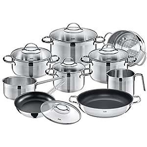 Silit achat bater a de cocina 10 piezas acero for Amazon bateria cocina