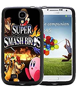 Case for Galaxy S4 i9500, Cover for Samsung Galaxy S4, Super Smash Bros Stylish Game Themed Scratch-ProofBack Case Cover for Galaxy S4 i9500