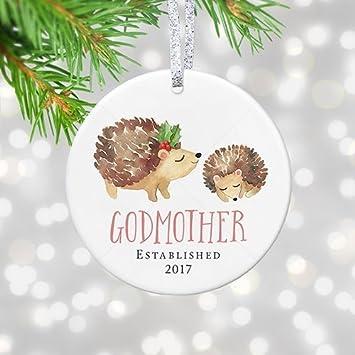 Amazon.com: Godmother Christmas Ornament 2017, New God Mother ...