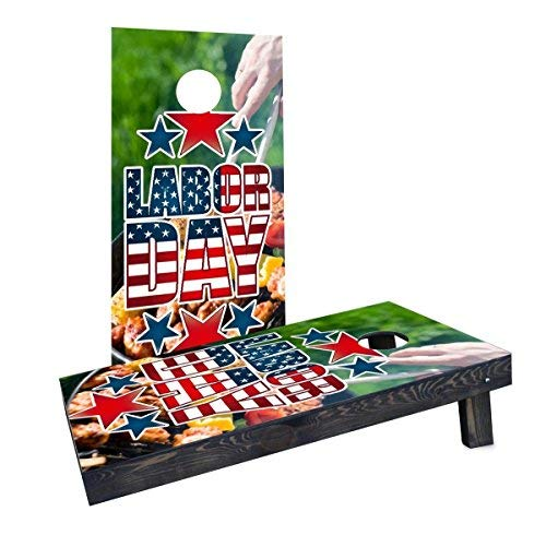 【希少!!】 Custom Cornhole Boards Incorporated CCB348-2x4-C-RH Cornhole Labor Cornhole Day Cornhole Boards Incorporated [並行輸入品] B07HLH6YVS, 博多折箱:b41171d0 --- irlandskayaliteratura.org