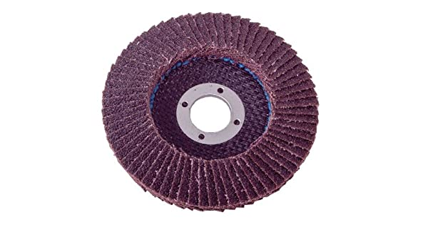 Type 29 Shark 45843    4.5-Inch by 5//8-11NC Zirconia Beveled Flap Disc Grit-120