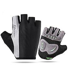 ROCKBROS Gel Summer Cycling Gloves Half Finger Short Biking Gloves Light and Breathable