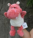 Gold Happy Hand Puppets Plush cartoon Animals for Kid Child Gifts Learning Aid Toy with foot telling story turtle hippo sheep